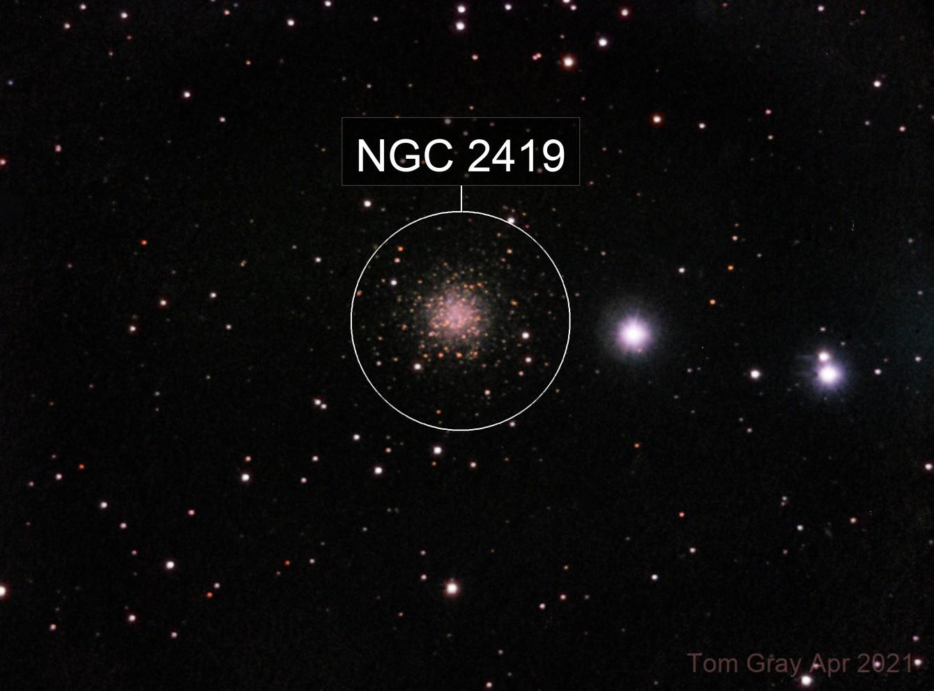 NGC 2419 - galactic wanderer