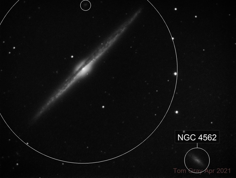 NGC 4565 - 'on edge'