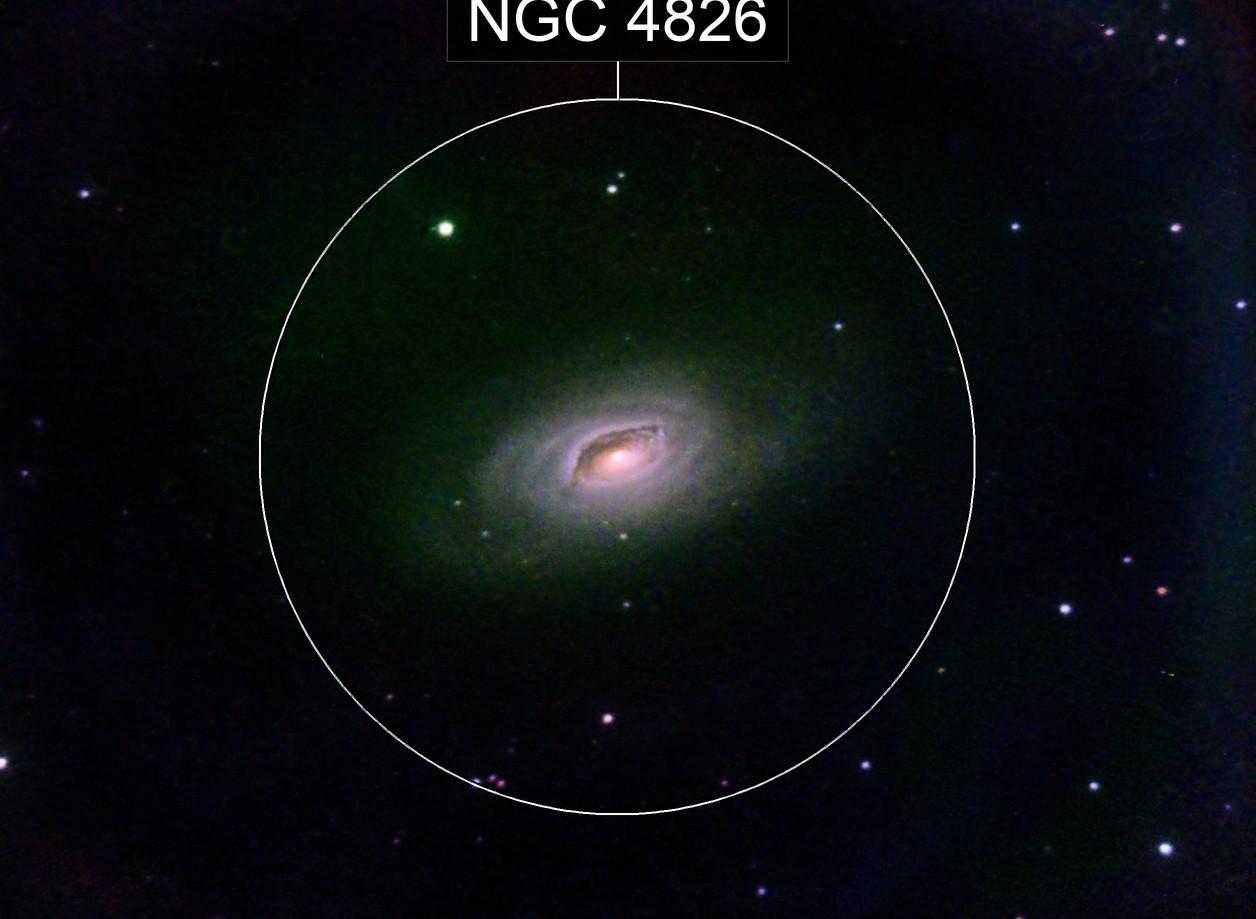 M64 in L(L)RGB - horrifying!
