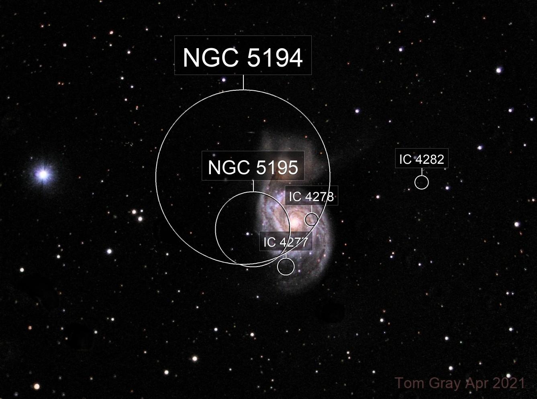 M51 in LLRGB