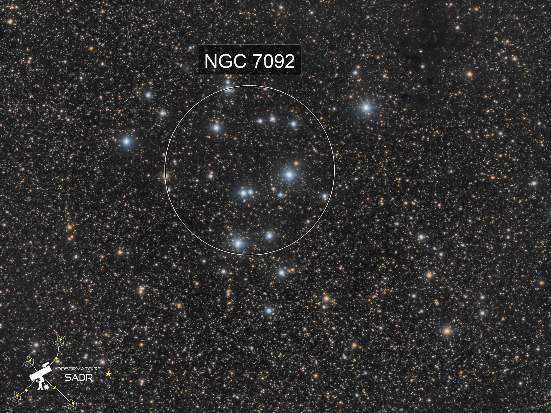 Amas ouvert M39 - Sadr Espagne