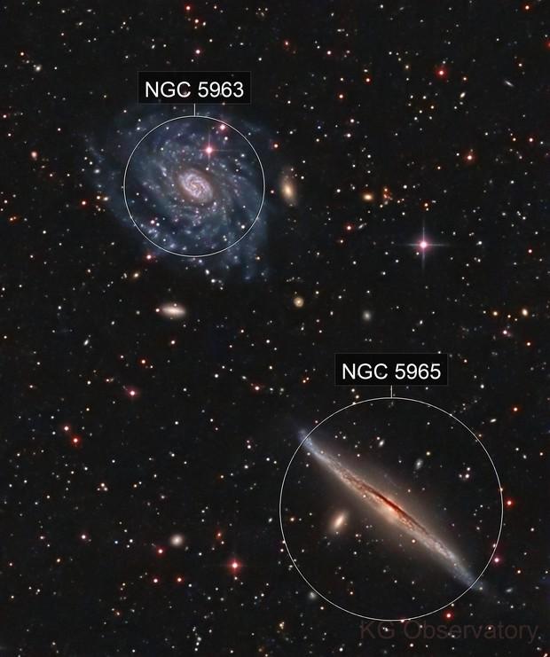 NGC 5963 and NGC 5965