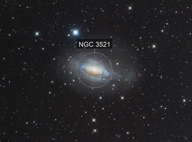 NGC 3521, The Bubble Galaxy