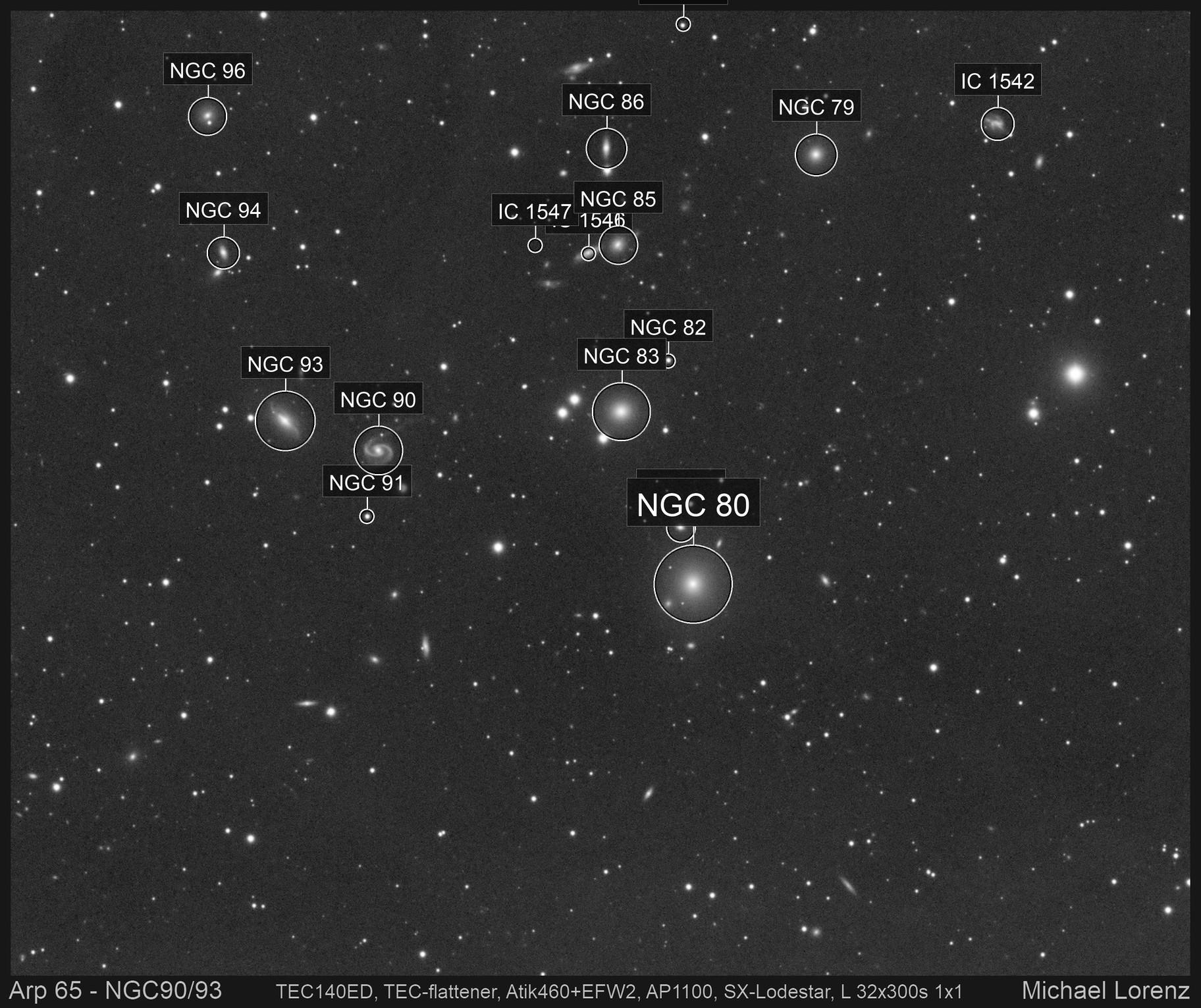 Arp 65 - NGC90/93