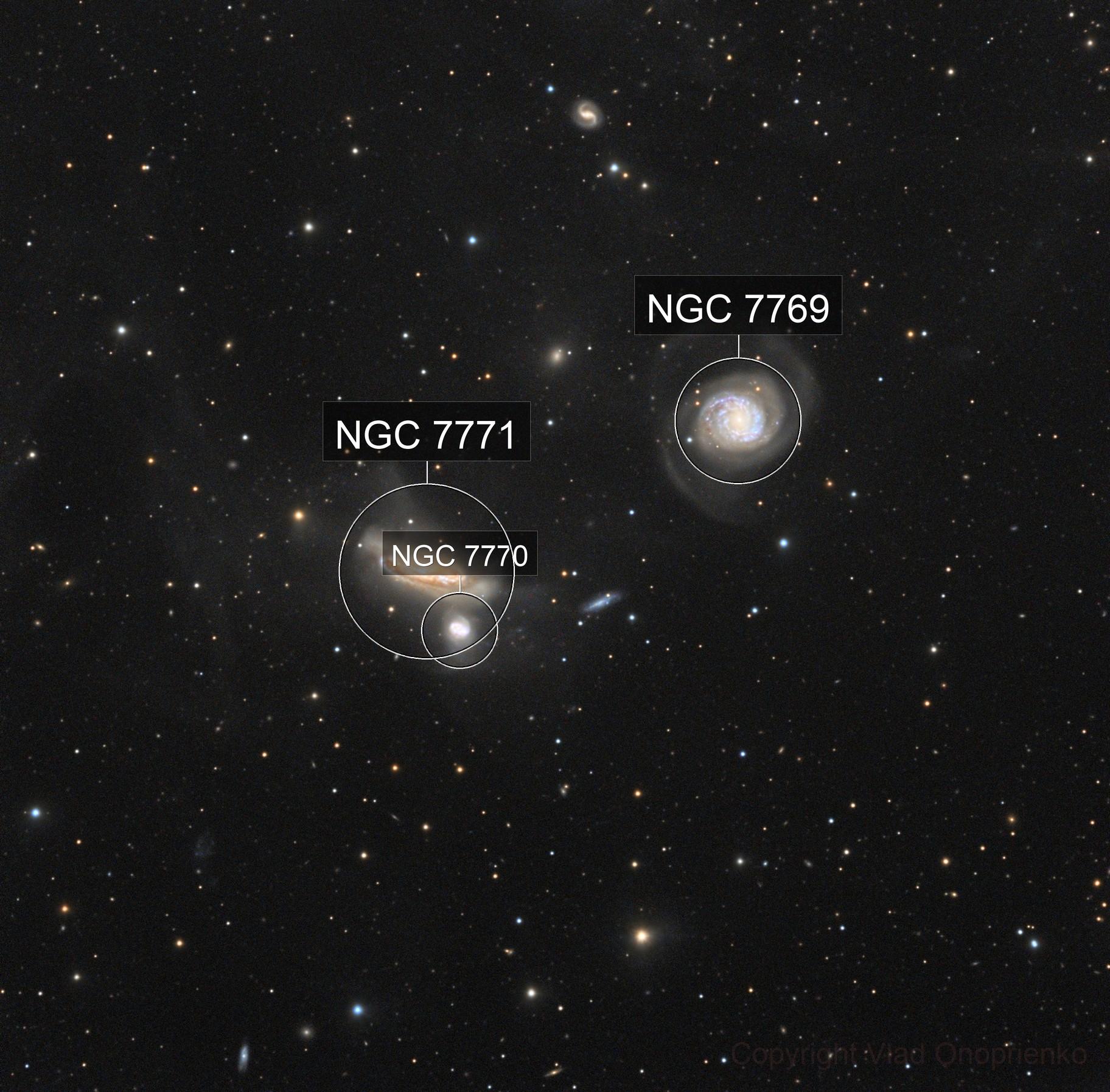 NGC 7769, 7771 and IFN