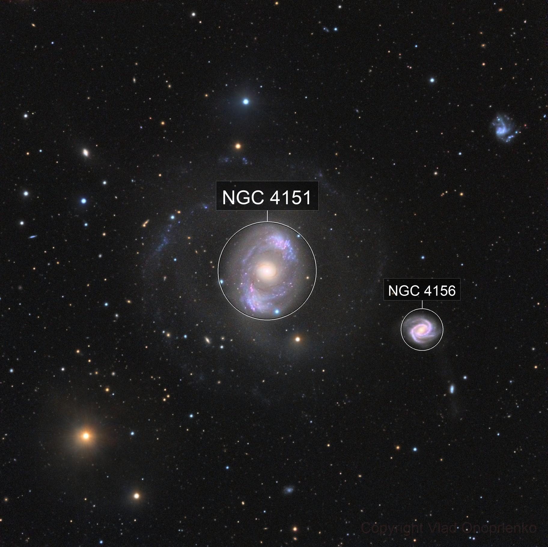 NGC 4151. The Eye of Sauron