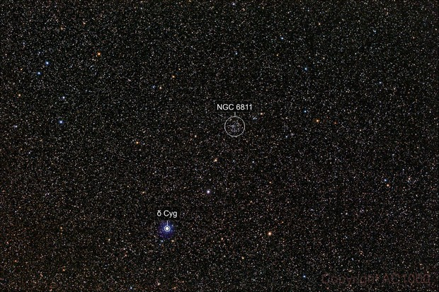 NGC 6811 - wide field