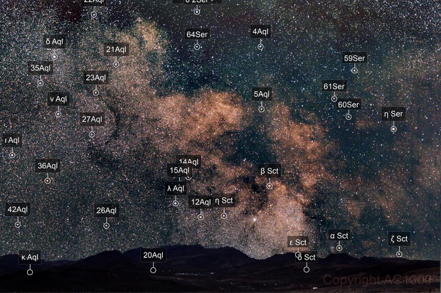 Test image - Milky Way combined with landscape