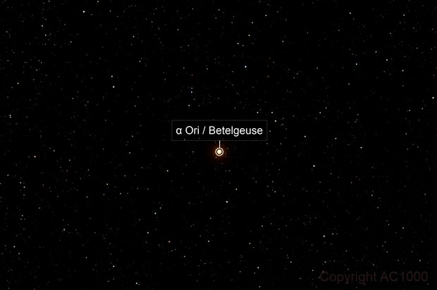 Dimming Betelgeuse - α Orionis