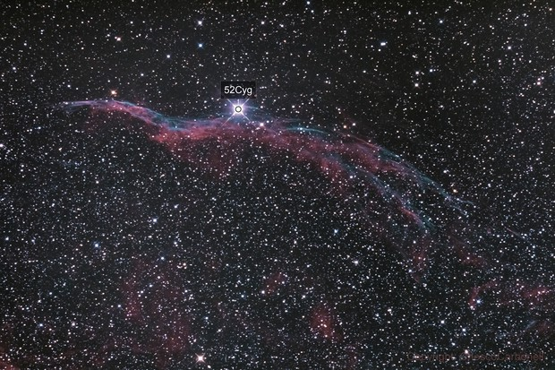 Nebulosa del Velo NGC 6960