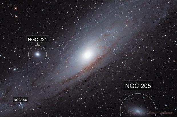 Galaxia de Andromeda (M31)