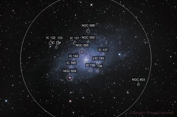 Galaxia del Triángulo (M33)