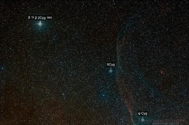 Albireo and Supernova Remnant G65.3+5.7