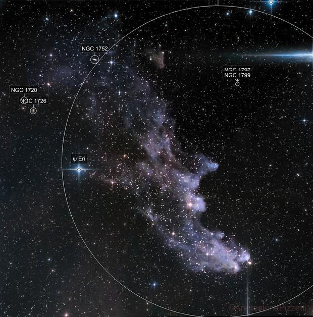 ic 2118 - Witch Head Nebula