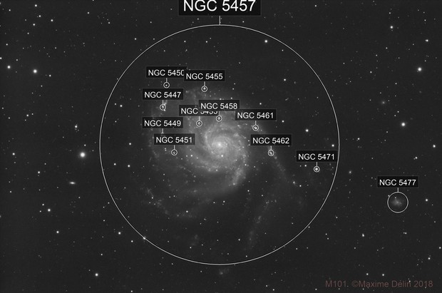 M101 Luminance