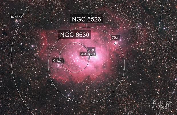 M8 - 潟湖星雲