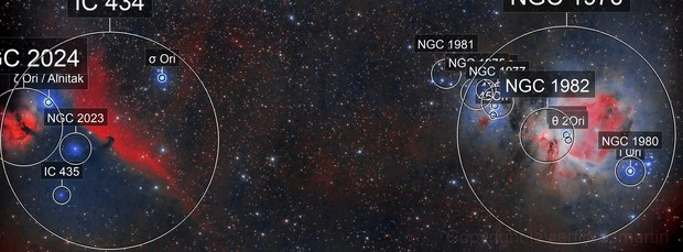 IC434 & M42
