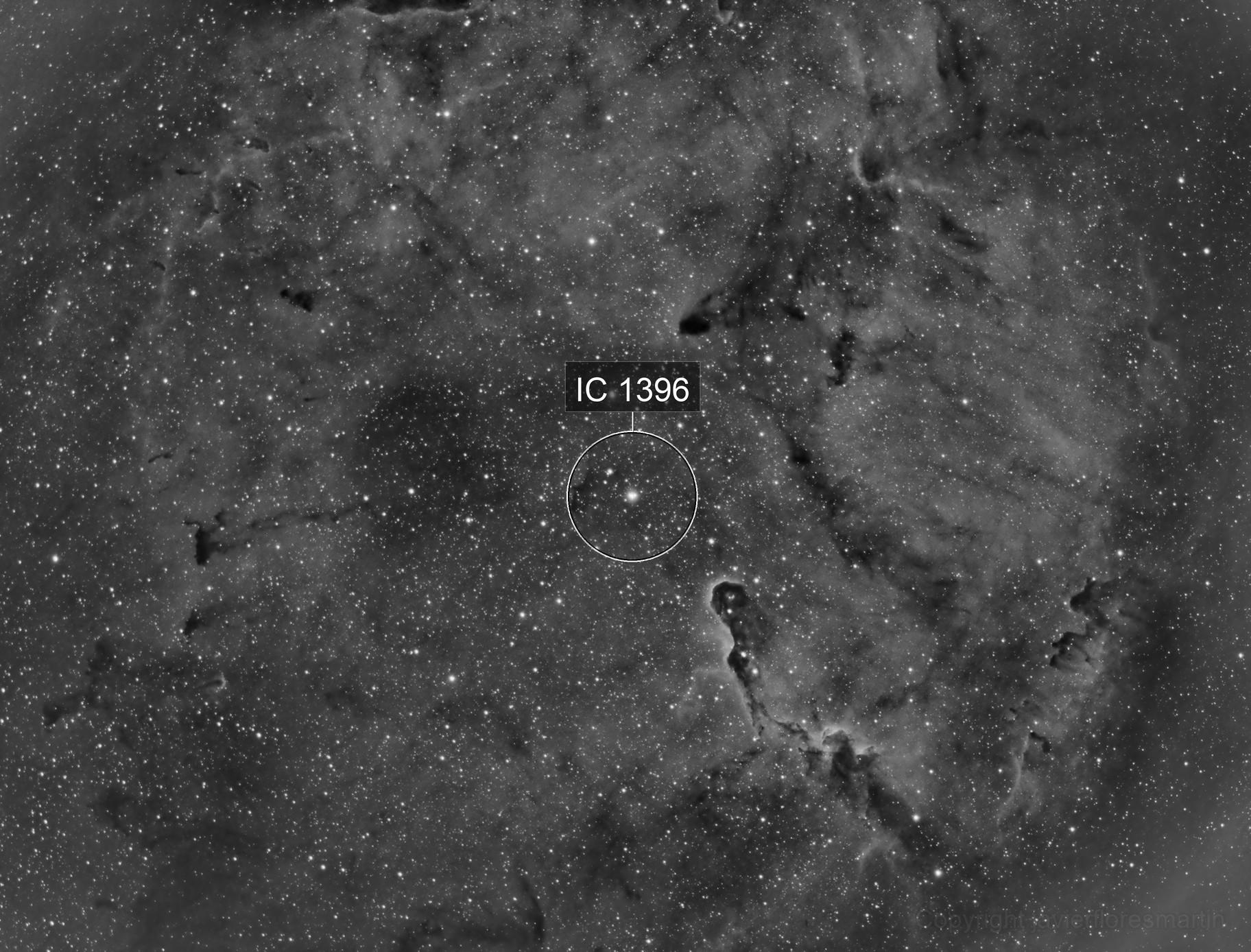 Trompa de elefante IC 1396