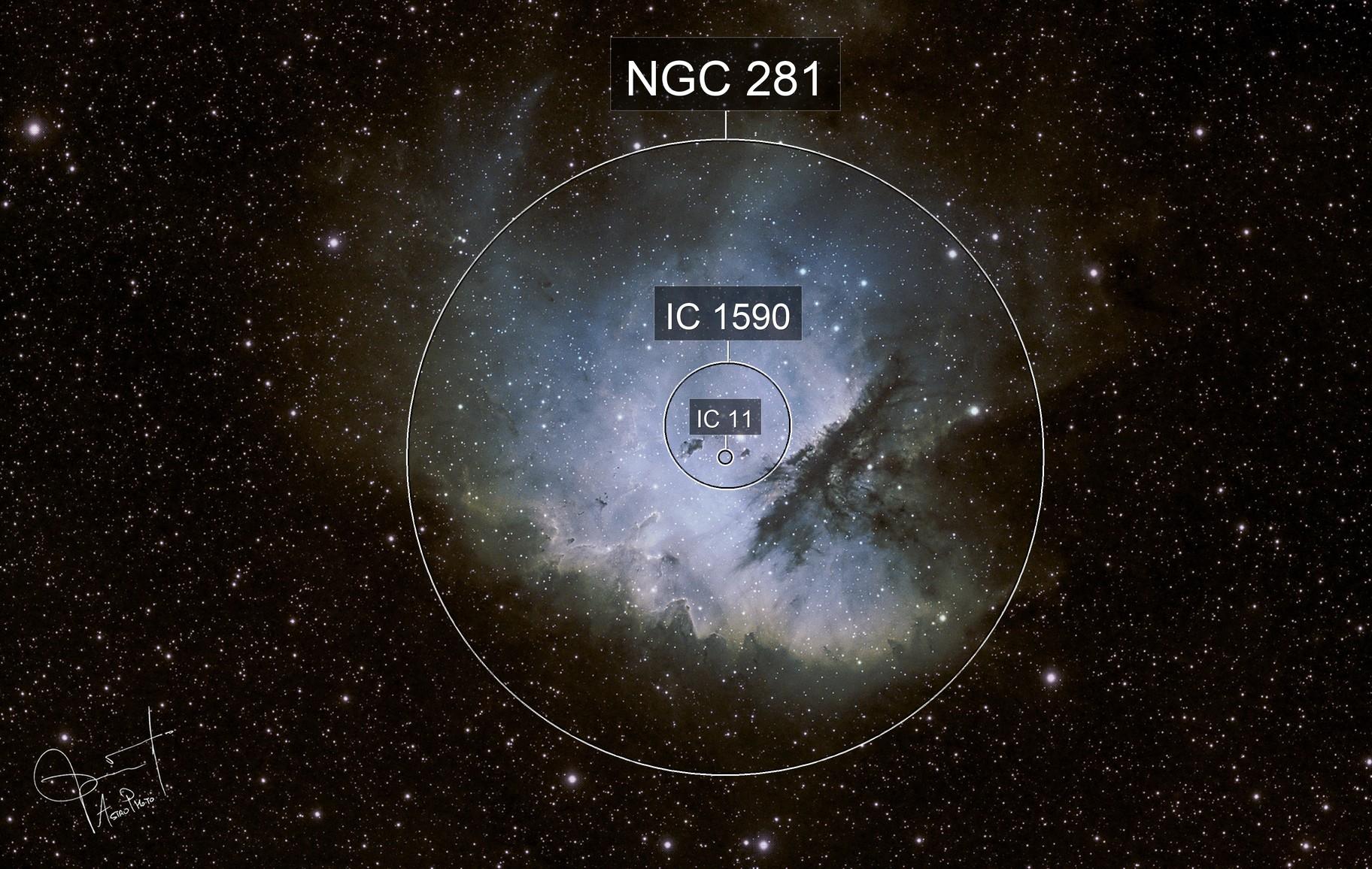 Pacman  Nebula  - NGC281