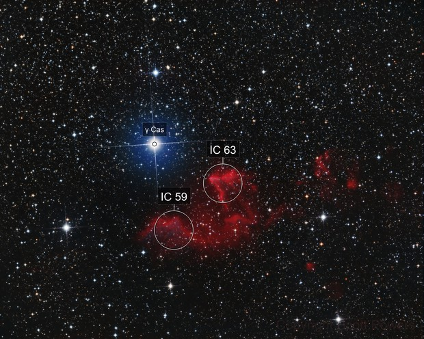 IC 63 - Ghost of Cassiopeia