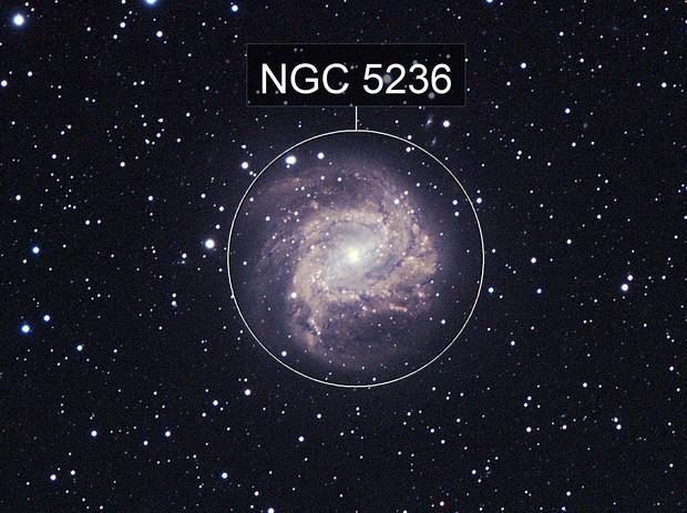 M83 The Southern Pinwheel Galaxy