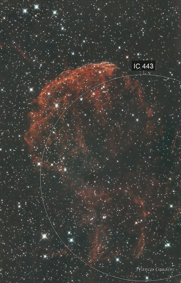 IC 443-Nébuleuse de la méduse