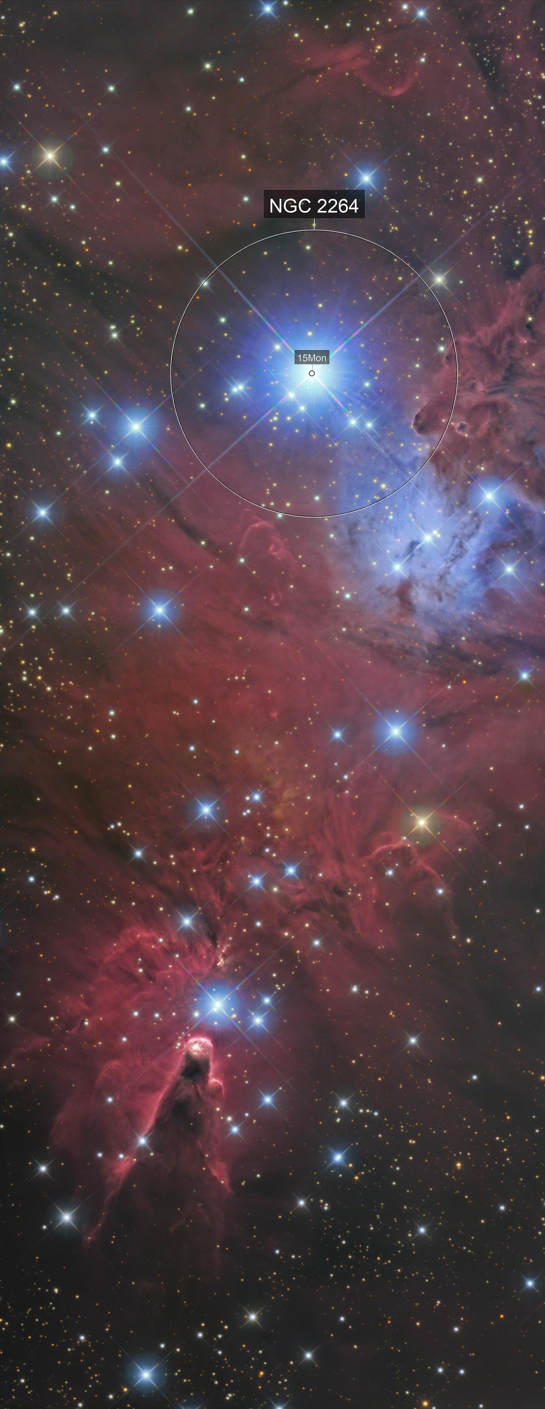cone nebula / ngc 2264