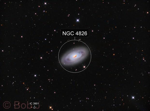 M64-The Black Eye Galaxy