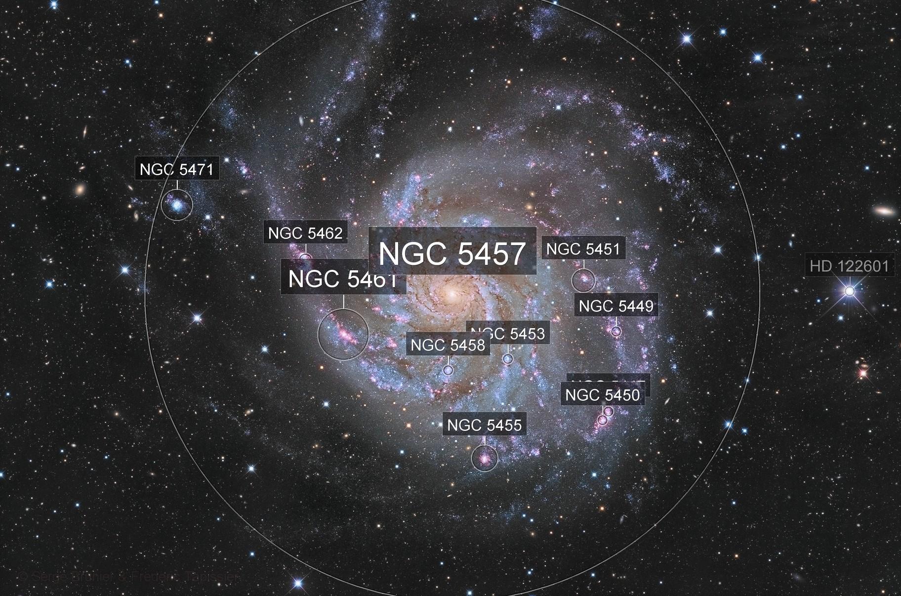 M101 @ C2PU Observatory