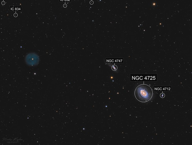 From LoTr 5 to NGC 4725