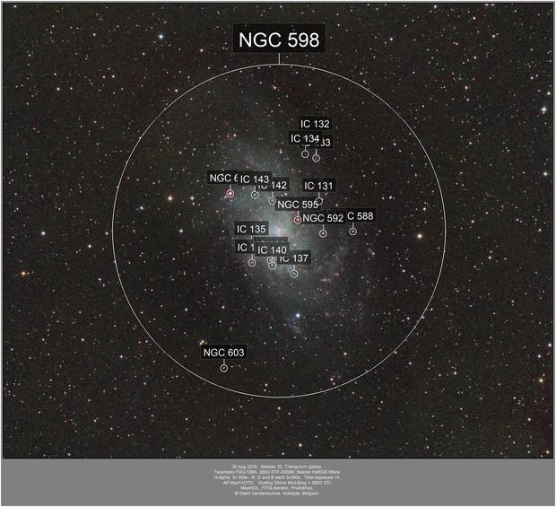 Messier 33, Triangulum galaxy, 20190830