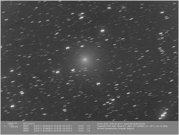 Comet 64P Swift-Gehrels, 20181130