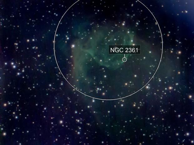 Nebulosa elmo di thor