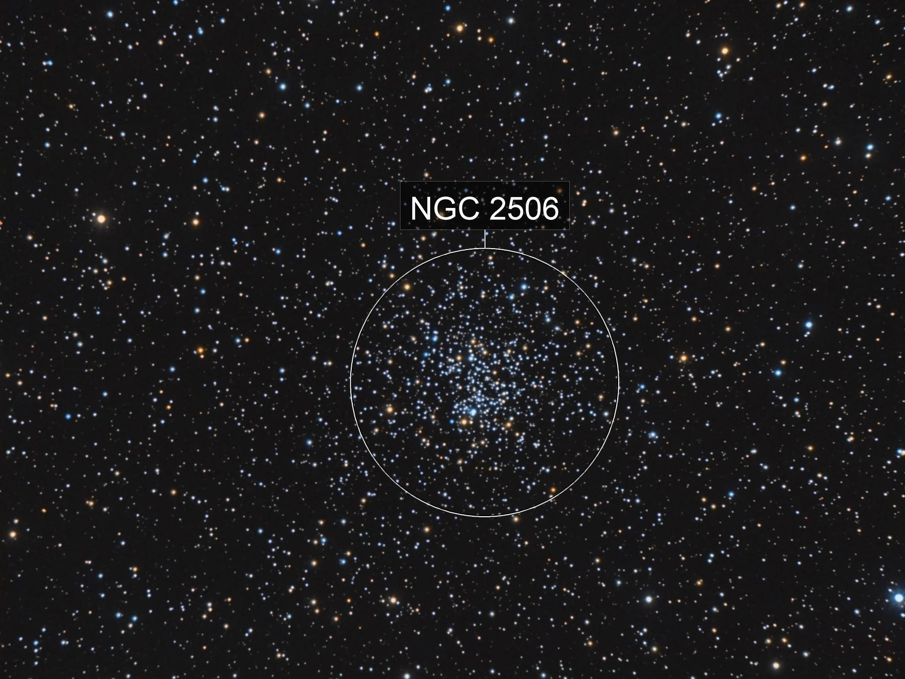NGC2506 (Melotte 80, Collinder 170)