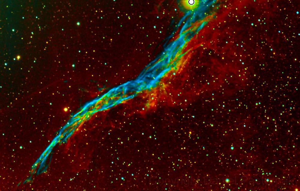 NGC-6960 Western Viel Nebula