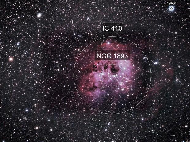 IC 410 nebuleuse du tetard