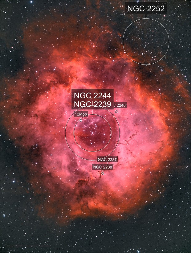 Rosette nebula_Happy Valentine's Day