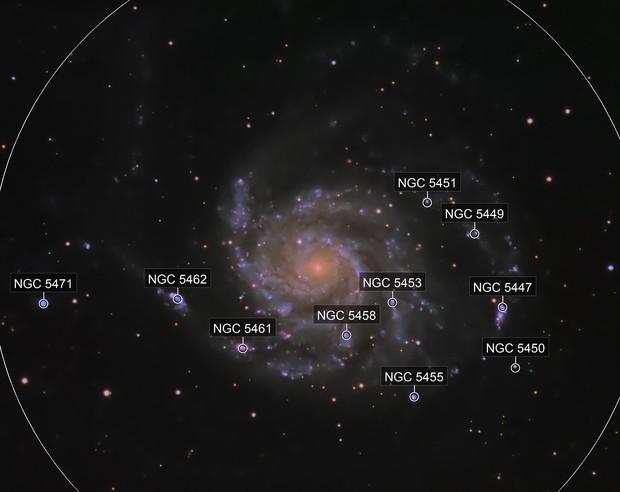 M101 (Pinwheel Galaxy)