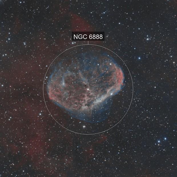 Crescent Nebula - FLI 16803 Version