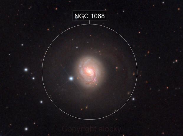 M77 with supernova sn2018ivc