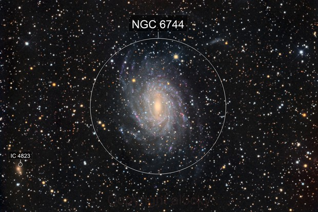 ngc 6744 in Pavo