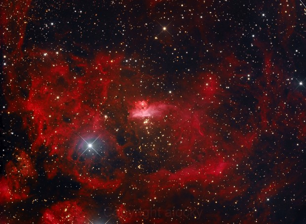 NGC 6357 - the lobster
