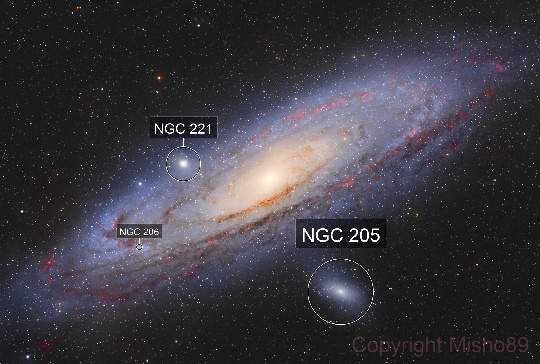M31 HALRGB