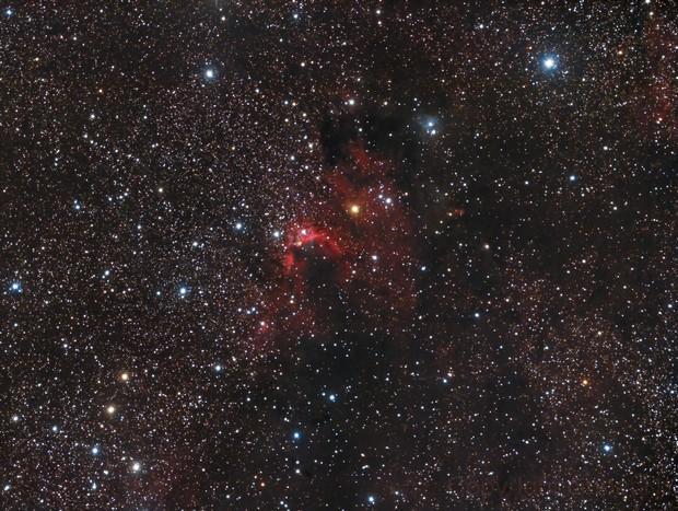 SH2-155 Cave Nebula
