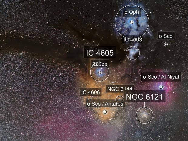 Rho Ophiuchus cloud complex