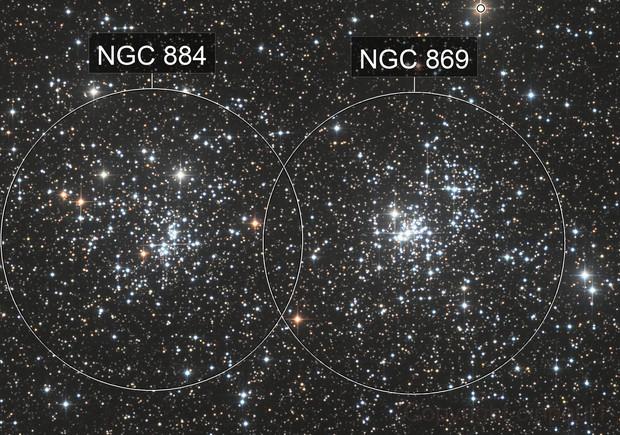 Double Satr Cluster   NGC 869 and NGC 884