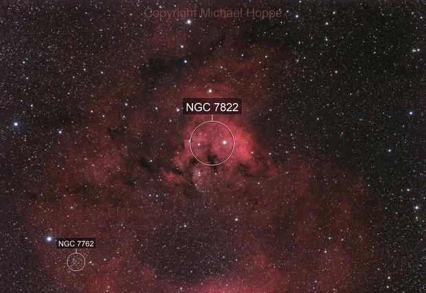 Cederblad 214 & NGC 7822