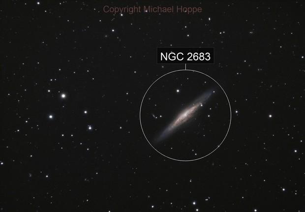 NGC 2683 - UFO Galaxy