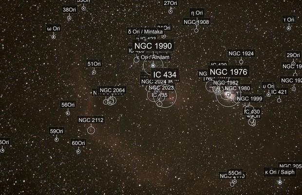 Orion au 105mm