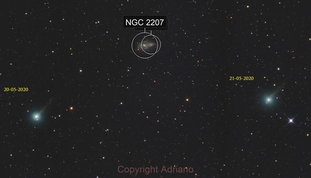 Comet route C / 2019 U6.